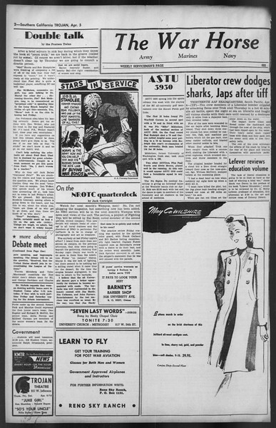 The Trojan, Vol. 35, No. 102, April 05, 1944