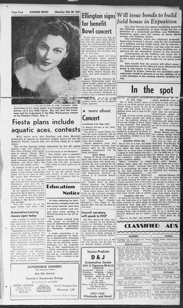 Summer News, Vol. 2, No. 15, July 28, 1947