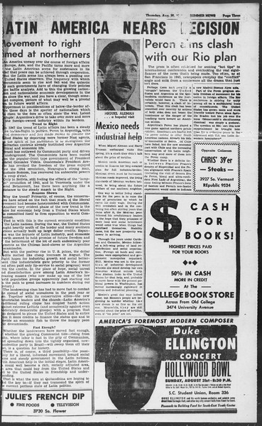 Summer News, Vol. 2, No. 25, August 28, 1947