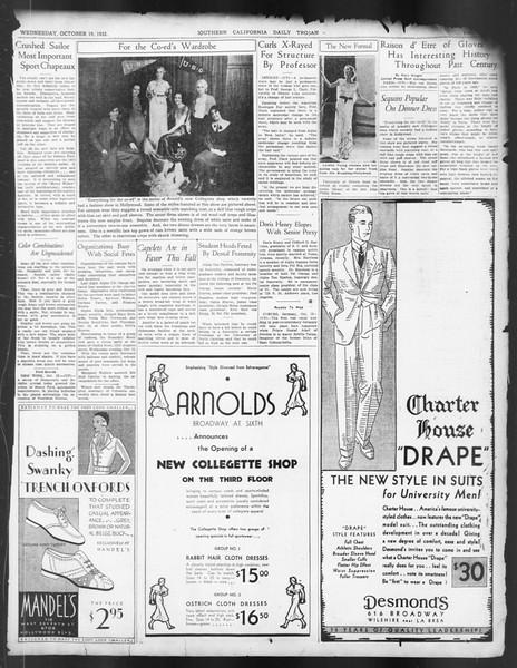 Daily Trojan, Vol. 24, No. 29, October 19, 1932