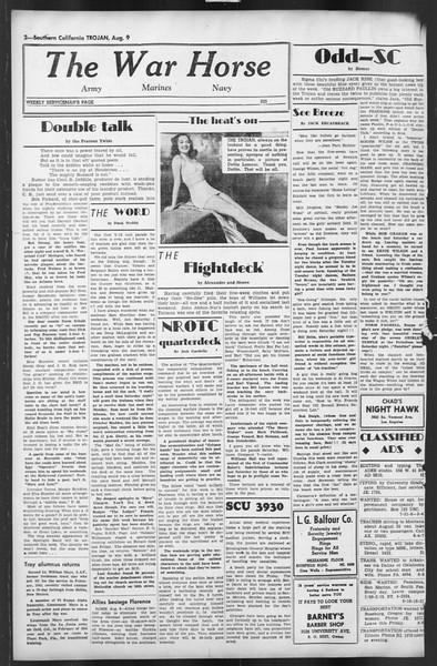 The Trojan, Vol. 35, No. 148, August 09, 1944