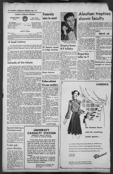 The Trojan, Vol. 35, No. 60, December 10, 1943