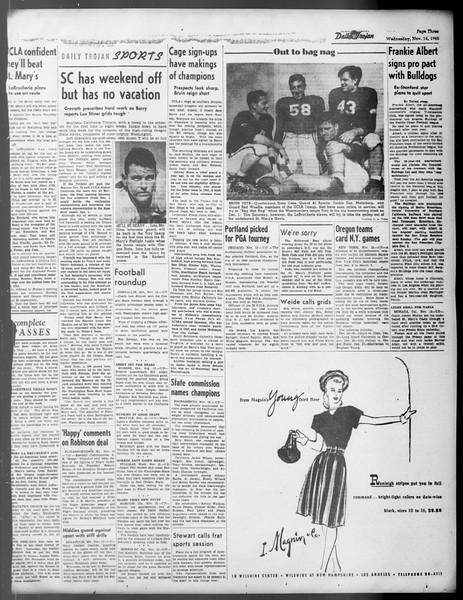 Daily Trojan, Vol. 37, No. 10, November 14, 1945