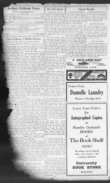 Southern California Trojan, Vol. 11, No. 3, June 28, 1932