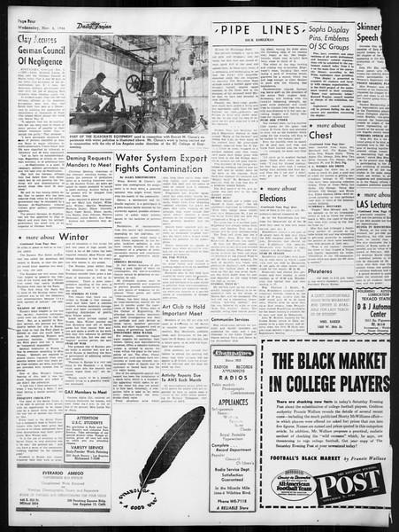 Daily Trojan, Vol. 38, No. 38, November 06, 1946