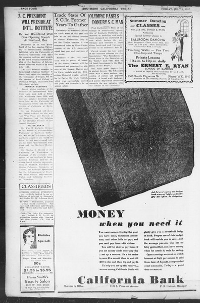 Southern California Trojan, Vol. 11, No. 4, July 01, 1932