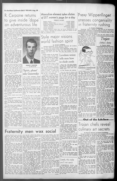 Daily Trojan, Vol. 36, No. 189, August 30, 1945
