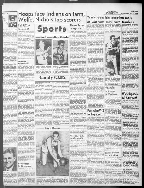 Daily Trojan, Vol. 37, No. 55, January 23, 1946