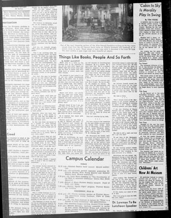 Daily Trojan, Vol. 33, No. 8, June 17, 1941