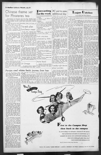 The Trojan, Vol. 35, No. 144, July 31, 1944