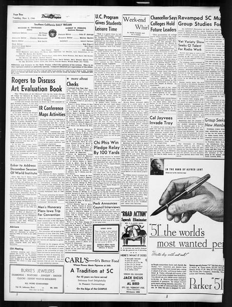 Daily Trojan, Vol. 38, No. 37, November 05, 1946