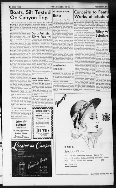 Summer News, Vol. 1, No. 13, July 24, 1946