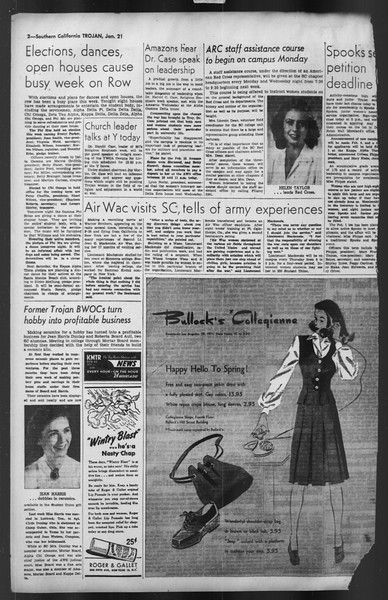 The Trojan, Vol. 35, No. 75, January 21, 1944