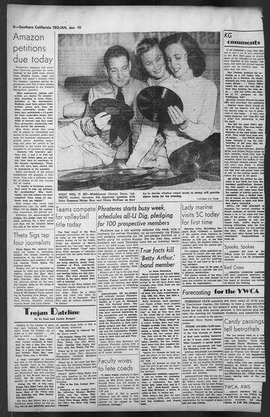 The Trojan, Vol. 35, No. 70, January 10, 1944