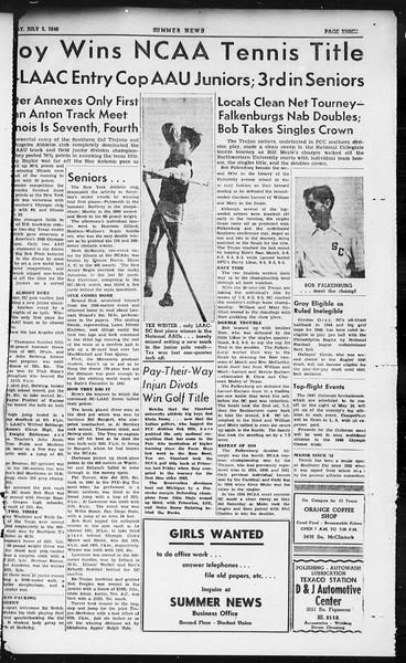 Summer News, Vol. 1, No. 4, July 01, 1946