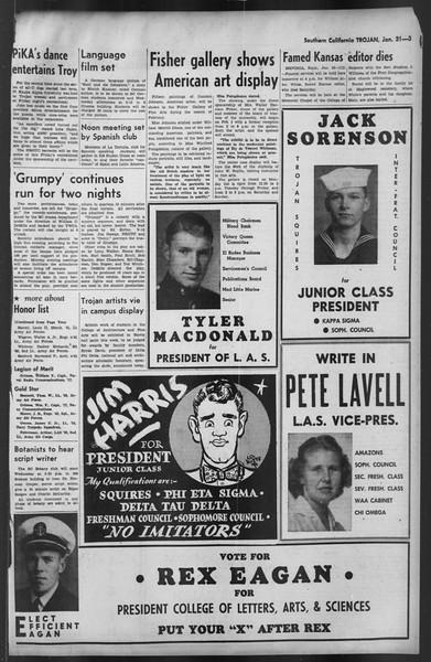 The Trojan, Vol. 35, No. 79, January 31, 1944