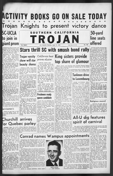 The Trojan, Vol. 35, No. 162, September 11, 1944