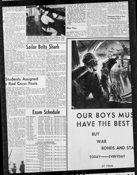 Daily Trojan, Vol. 34, No. 72, January 14, 1943