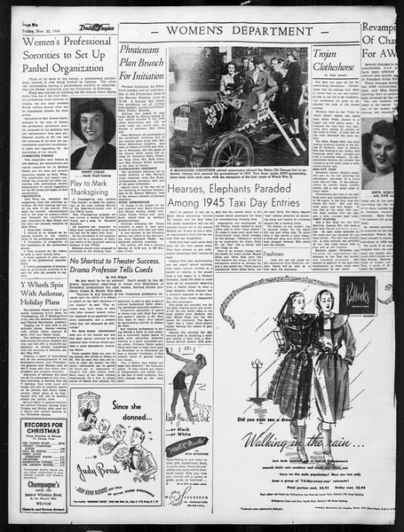 Daily Trojan, Vol. 38, No. 50, November 22, 1946