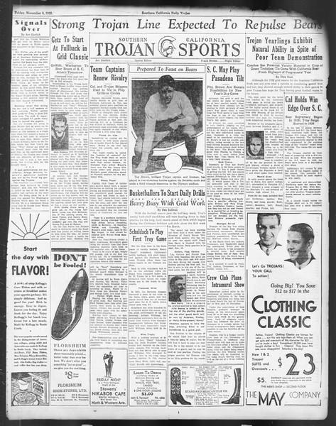 Daily Trojan, Vol. 24, No. 40, November 04, 1932
