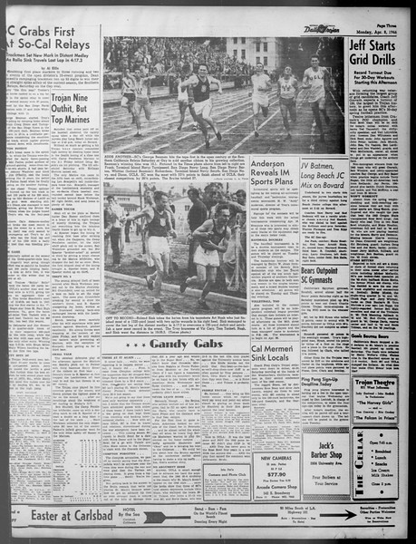 Daily Trojan, Vol. 37, No. 101, April 08, 1946