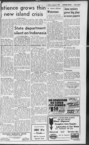 Summer News, Vol. 2, No. 17, August 01, 1947