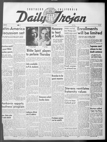 Daily Trojan, Vol. 37, No. 64, February 05, 1946