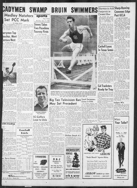 Daily Trojan, Vol. 41, No. 116, April 17, 1950