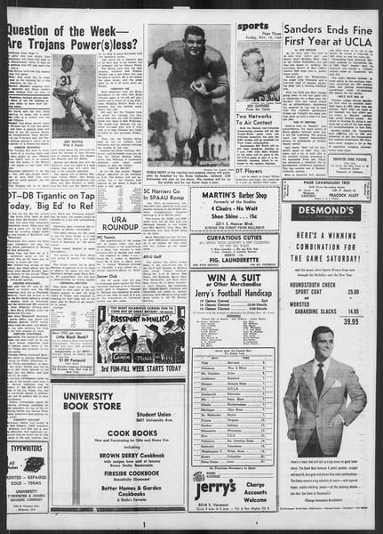 Daily Trojan, Vol. 41, No. 50, November 18, 1949