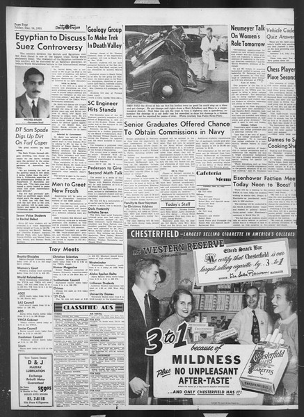 Daily Trojan, Vol. 43, No. 59, December 11, 1951