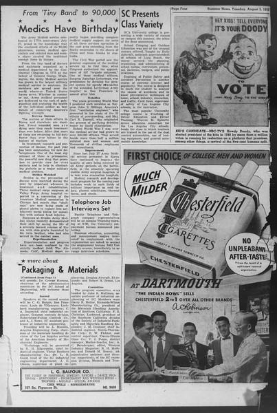 Summer News, Vol. 7, No. 12, August 05, 1952