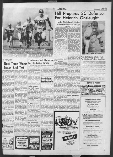 Daily Trojan, Vol. 44, No. 42, November 12, 1952