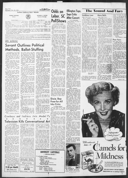 Daily Trojan, Vol. 41, No. 81, February 23, 1950