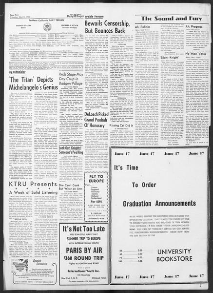 Daily Trojan, Vol. 41, No. 127, May 02, 1950