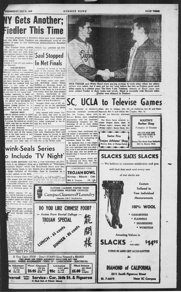 Summer News, Vol. 4, No. 7, July 06, 1949