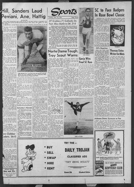 Daily Trojan, Vol. 44, No. 51, November 25, 1952