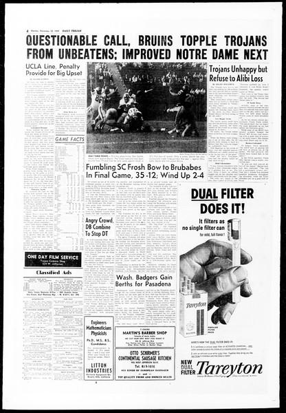 Daily Trojan, Vol. 51, No. 42, November 23, 1959