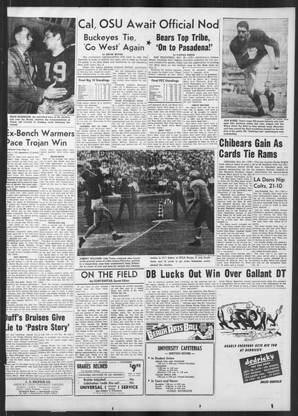 Daily Trojan, Vol. 41, No. 51, November 21, 1949
