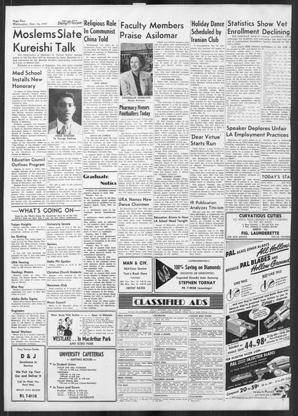 Daily Trojan, Vol. 41, No. 48, November 16, 1949