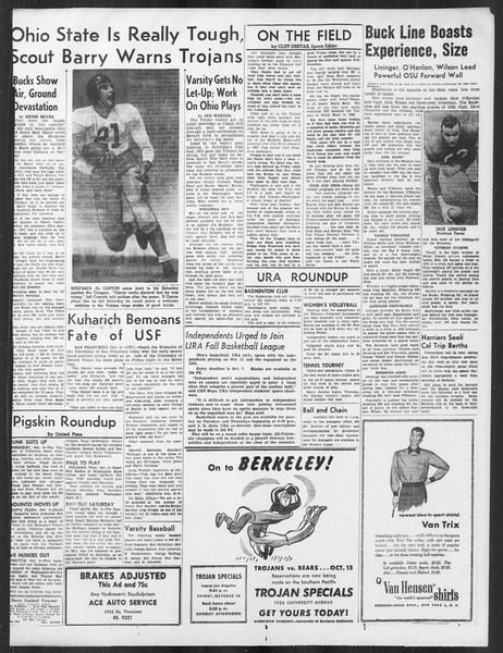Daily Trojan, Vol. 41, No. 18, October 04, 1949