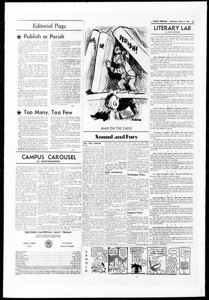 Daily Trojan, Vol. 51, No. 76, March 02, 1960