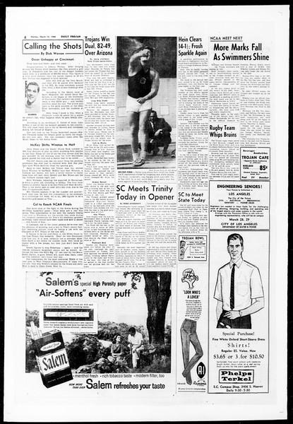 Daily Trojan, Vol. 51, No. 84, March 14, 1960
