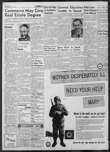 Daily Trojan, Vol. 43, No. 92, March 10, 1952