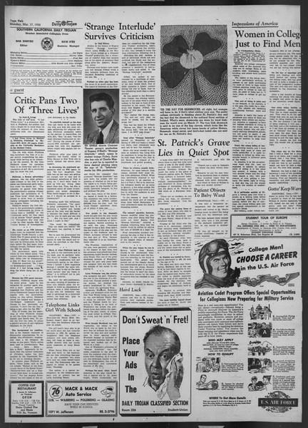 Daily Trojan, Vol. 43, No. 97, March 17, 1952