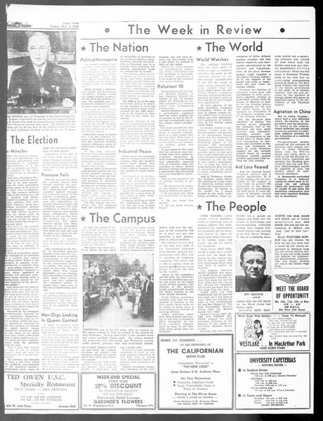Daily Trojan, Vol. 40, No. 40, November 05, 1948
