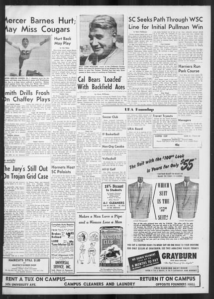 Daily Trojan, Vol. 42, No. 13, October 04, 1950