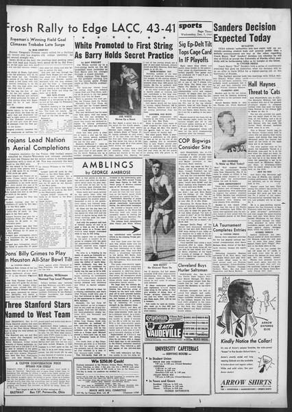 Daily Trojan, Vol. 41, No. 61, December 07, 1949