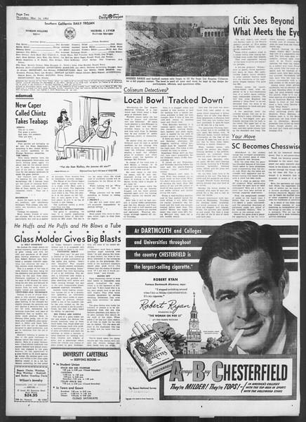 Daily Trojan, Vol. 41, No. 96, March 16, 1950