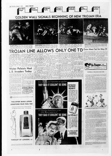 Daily Trojan, Vol. 51, No. 13, October 07, 1959