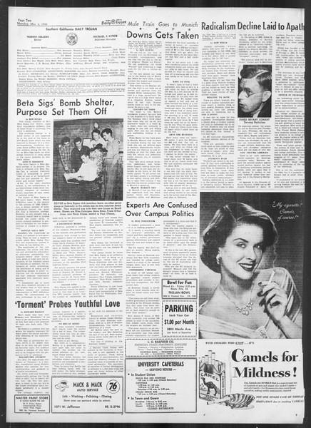 Daily Trojan, Vol. 41, No. 88, March 06, 1950